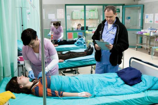 """""""Szpital"""" /Michał Lichtański/ East News /TVN"""