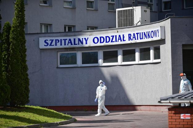 Szpitalny oddział ratunkowy w szpitalu MSWiA przy ulicy Wołoskiej w Warszawie / Marcin Obara  /PAP