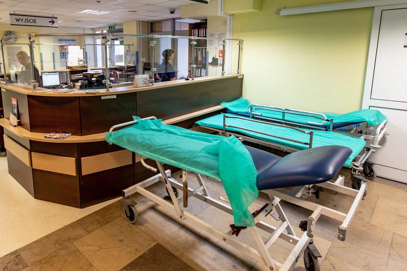 Szpitalny oddzial ratunkowy, zdjęcie ilustracyjne /Piotr Hukalo /East News