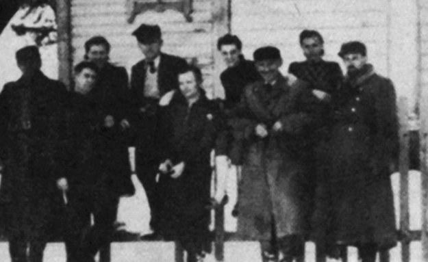 Sztab 27. Wołyńskiej Dywizji Piechoty (luty 1944 r.) - fot. ze zbiorów Światowego Związku Żołnierzy Armii Krajowej Okręg Wołyń /IPN