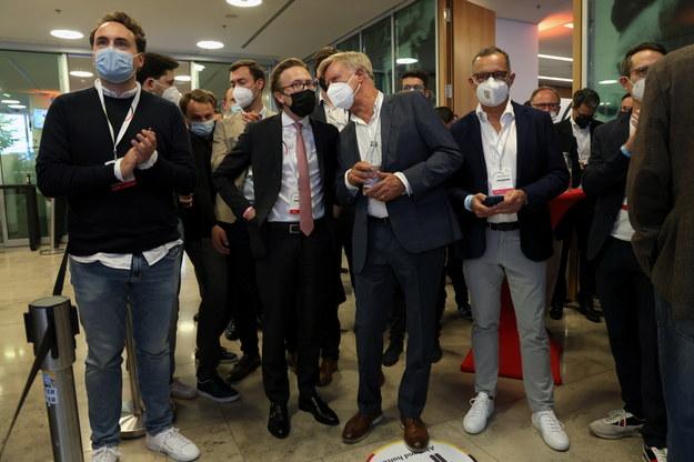 Sztab CDU /SEAN GALLUP / POOL /PAP/EPA