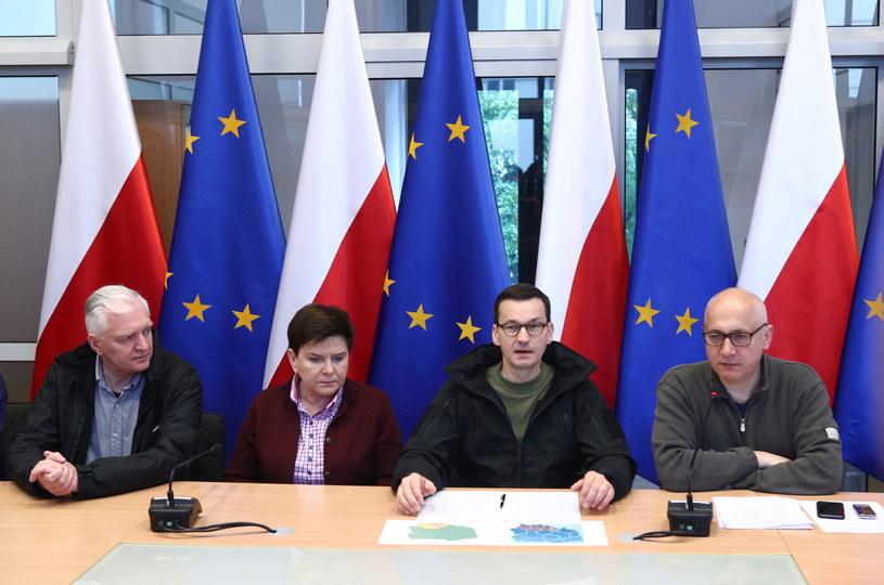 Sztab kryzysowy w Krakowie /Łukasz Gagulski /PAP