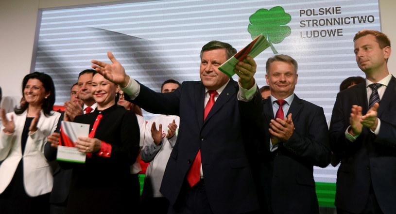 Sztab PSL /Bartłomiej Zborowski /PAP
