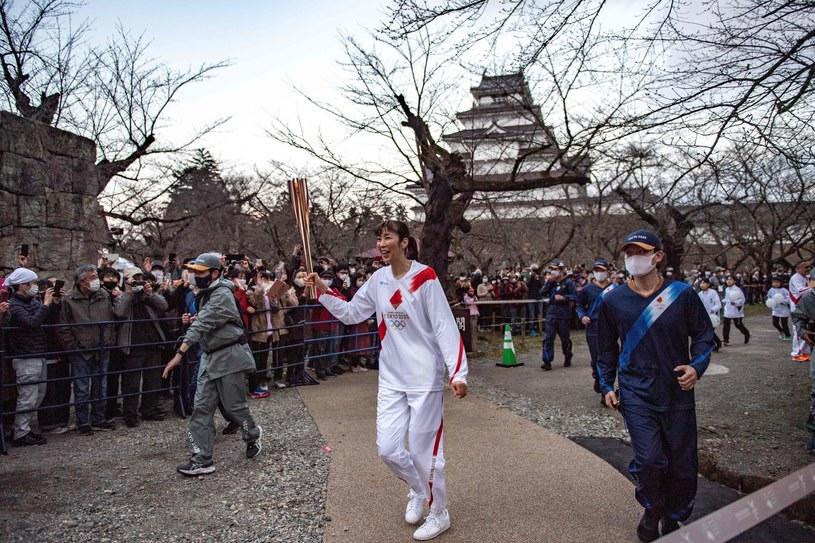 Sztafeta z ogniem olimpijskim /AFP