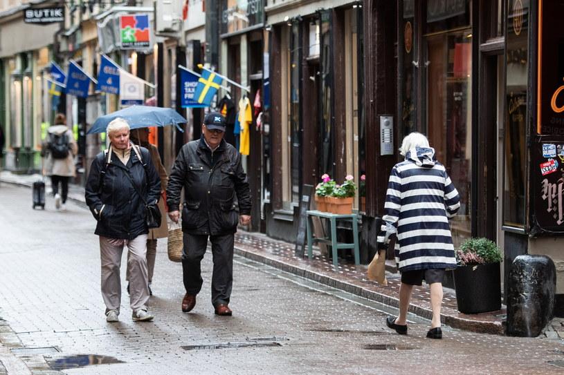 Sztokholm czasie pandemii koronawirusa, 22 października 2020 /TT NEWS AGENCY /Agencja FORUM