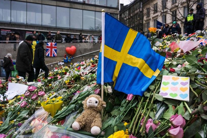 Sztokholm - miejsce zamachu. /AFP