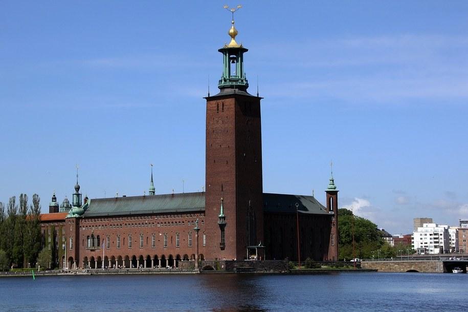 Sztokholmski ratusz /foto. pixabay /