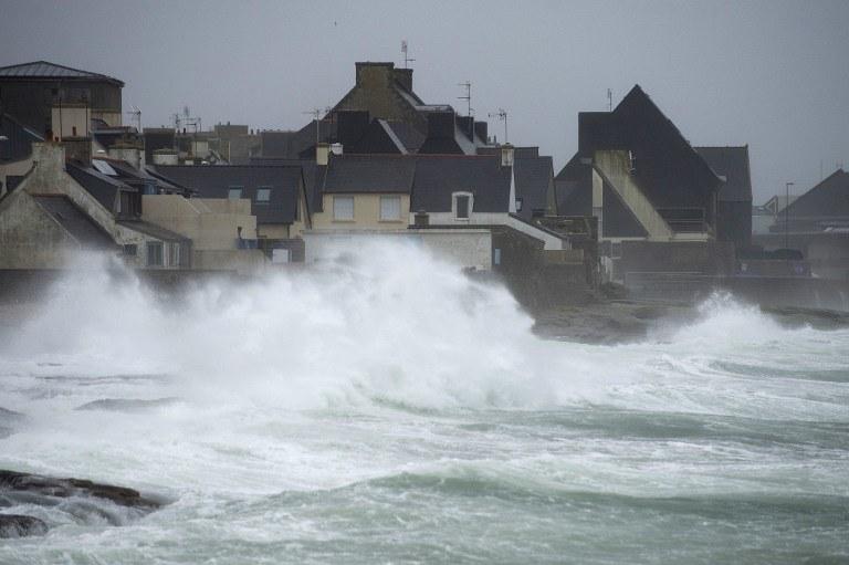 Sztormowa pogoda /AFP
