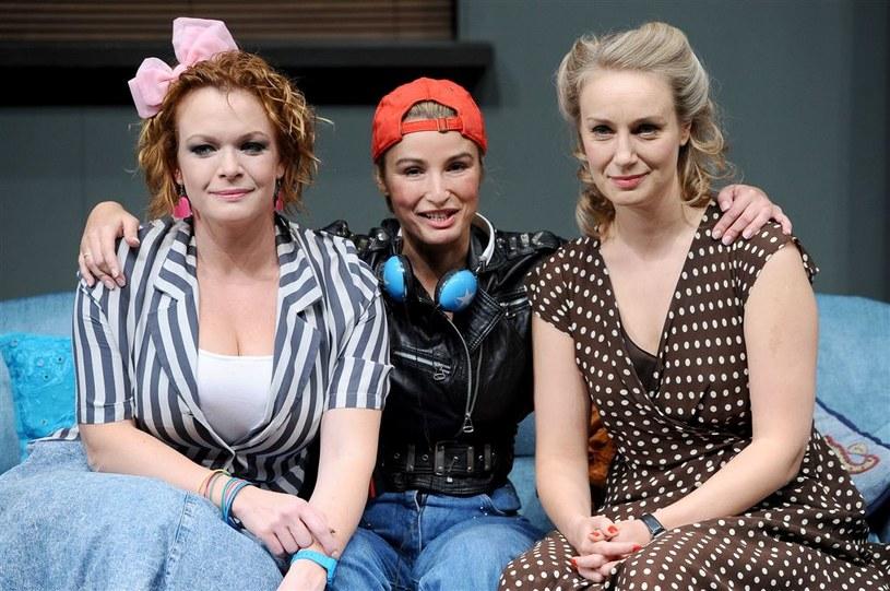 """Sztuka """"Di, Viv i Rose"""", w której grała Joanna Brodzik, została zdjęta z afisza /Agencja W. Impact"""