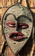 Sztuka Zimbabwe, maska kultowa /Encyklopedia Internautica