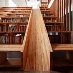 Sztukatułka:  Biblioteka ze zjeżdżalnią