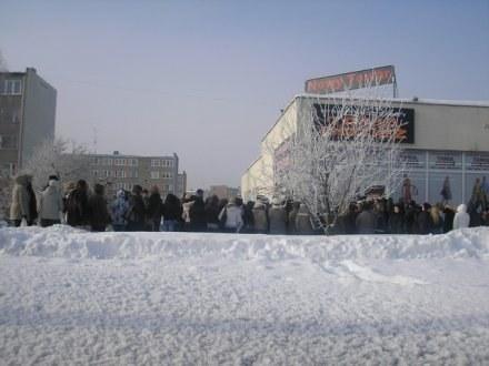 Szturm na nowy ciucholand w Stalowej Woli /Sztafeta