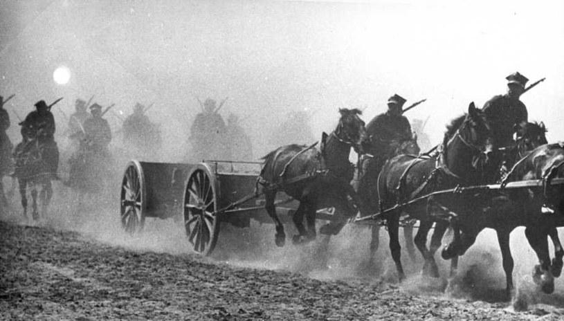 Szturm niedobitków czterech brygad kawalerii pozwolił na przebicie się do Warszawy /Narodowe Archiwum Cyfrowe /materiały prasowe