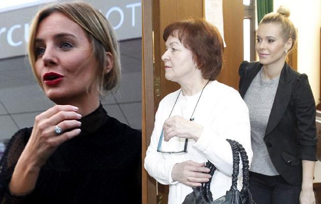 Szulim i Doda z mamą /- /East News