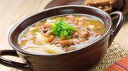 Szwabska zupa fasolowa