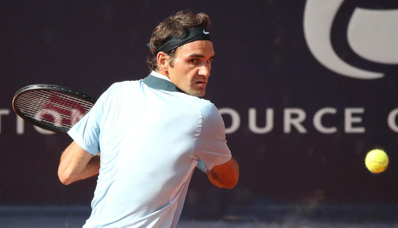 Szwajcar Roger Federer /AFP