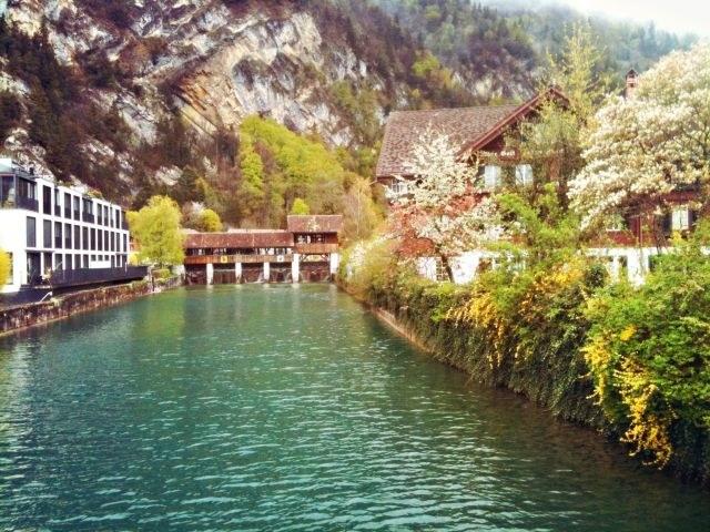 Szwajcaria urzeka krajobrazami /Aleksandra Stańczewska /materiały prasowe