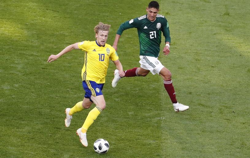 Szwecja - Meksyk /PAP/EPA