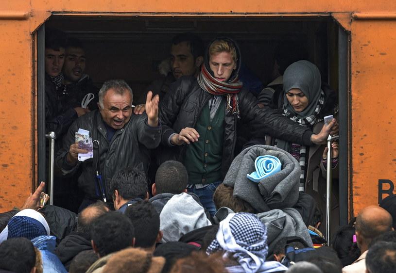 Szwecja ostrzega przed rekordowym napływem uchodźców /PAP/EPA