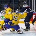 Szwecja - Słowacja 4-2 na hokejowych MŚ