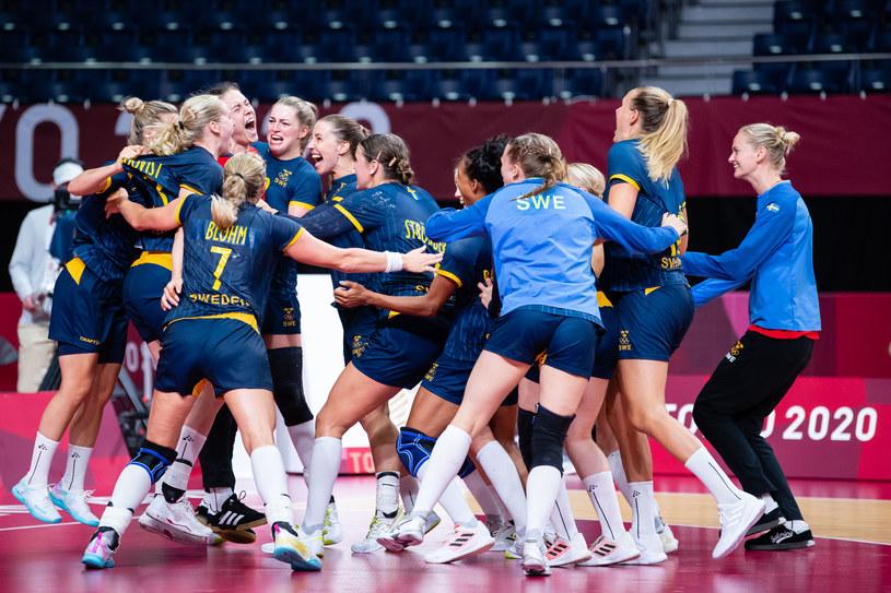 Szwecja w meczu z Francją. Piłka ręczna Tokio 2020 /ZUMA /Newspix