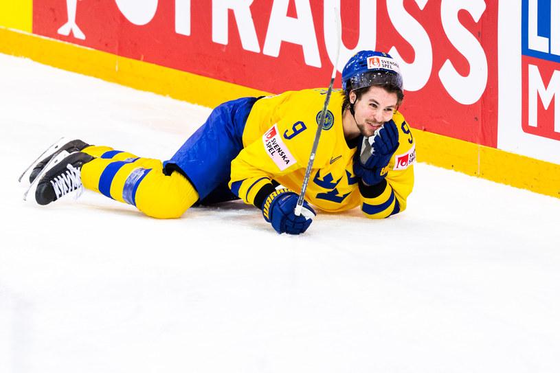 Szwecja w meczu z Rosją na mistrzostwach świata w 2021 roku /ZUMA/NEWSPIX.PL /Newspix