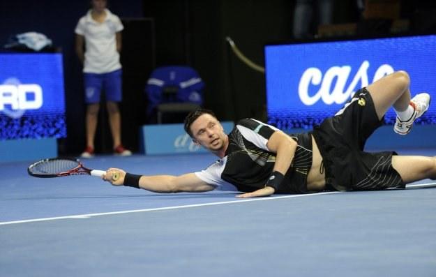 Szwed Robin Soderling wygrał turniej w Paryżu /AFP