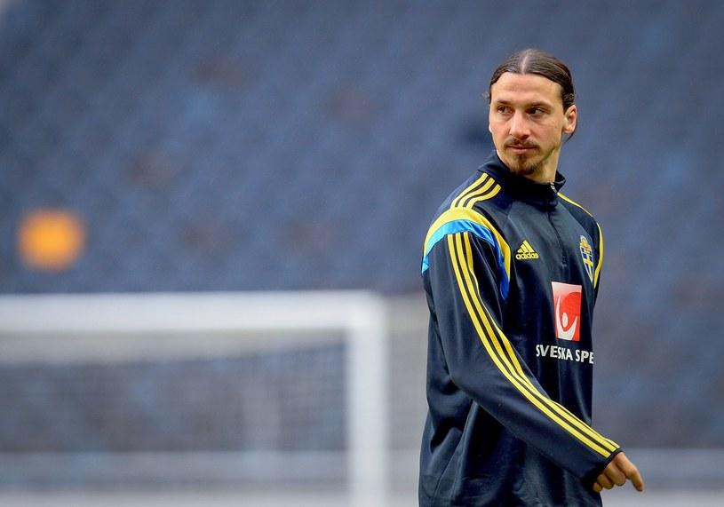 Szwed Zlatan Ibrahimović nie zagra na mundialu. /AFP