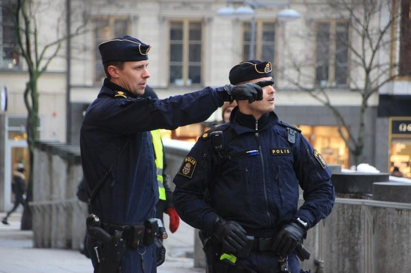 Szwedzcy policjanci, zdj. ilustracyjne /Atila Altuntas / Anadolu Agency/ABACAPRESS.COM /East News