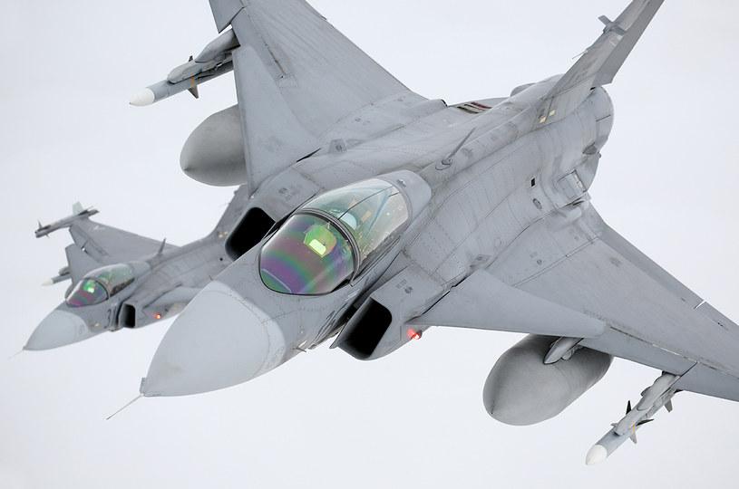 Szwedzi używają obecnie prawie 100 samolotów tego typu /Bartek Bera /INTERIA.PL