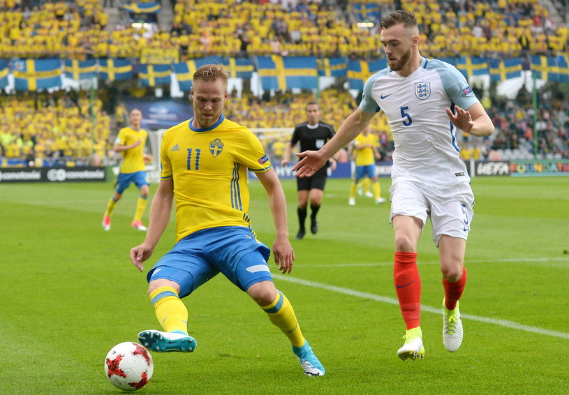Szwedzi zaczęli mistrzostwa od remisu 0-0 z Anglią /Piotr Polak /PAP