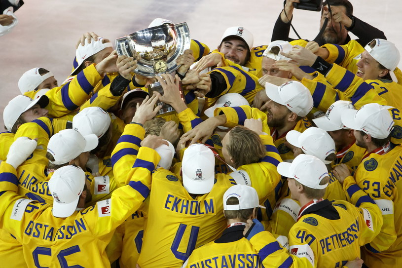 Szwedzi zostali mistrzami świata po raz 11. w historii /PAP/EPA