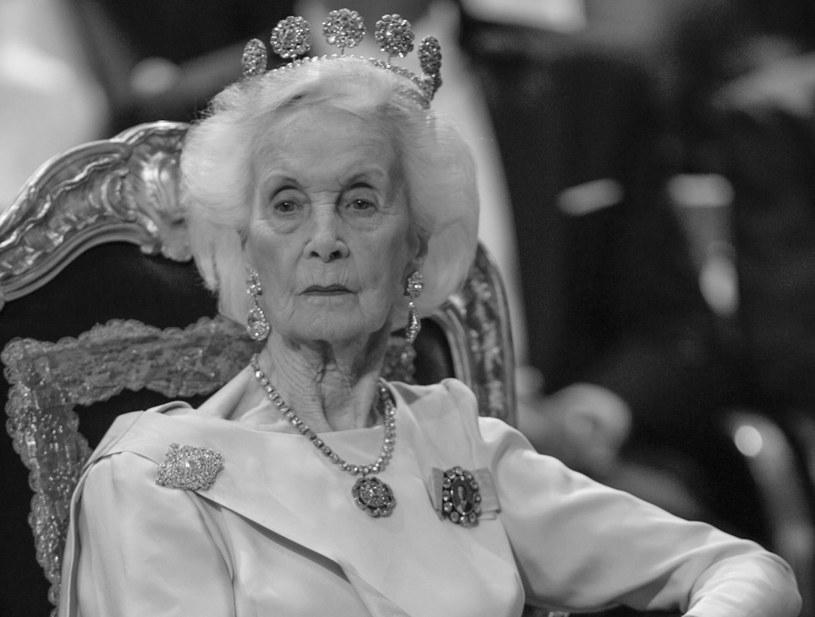 Szwedzka księżna Lilian /PAP/EPA