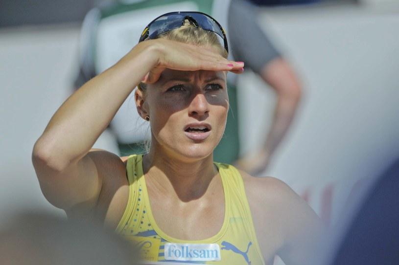 Szwedzka lekkoatletka Jessica Samuelsson podczas ME w Helsinkach /. /AFP