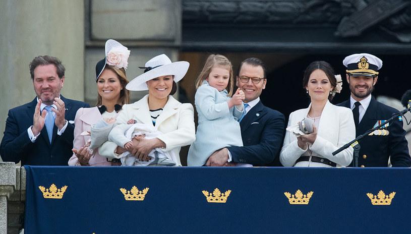 Szwedzka rodzina królewska /Samir Hussein/WireImage /Getty Images