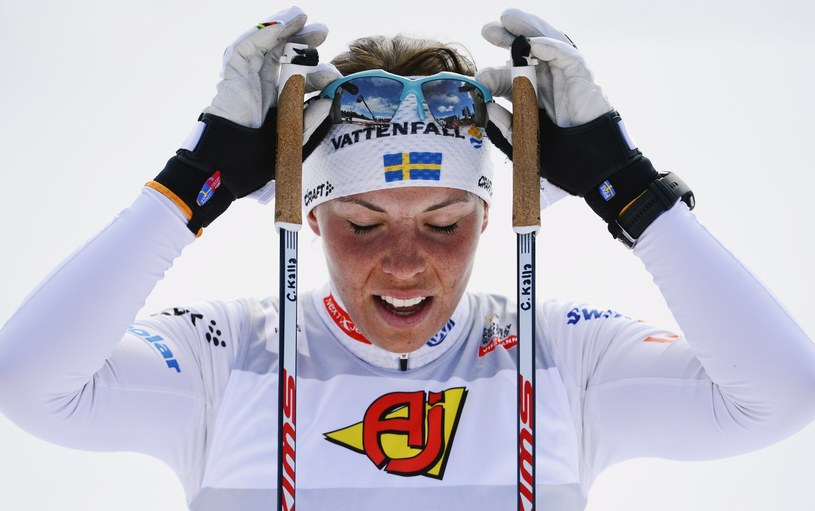 Szwedzka rywalka Justyny Kowalczyk Charlotte Kalla /AFP