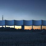 Szwedzka wieża ciśnień o kształcie fali
