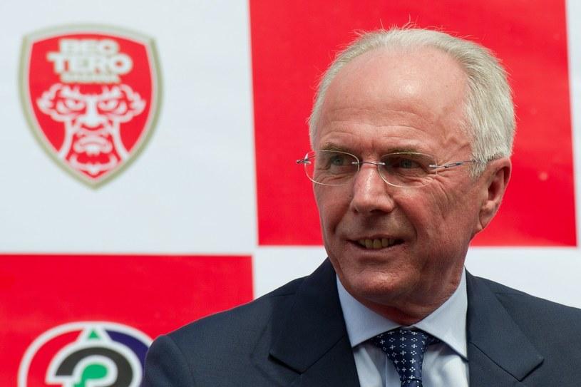 Szwedzki trener Sven-Goran Eriksson /AFP