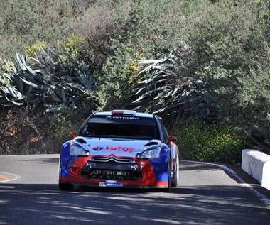 Szybka jazda Kubicy na testach przed Rally Islas Canaries