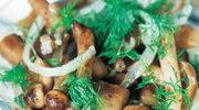 Szybka sałatka grzybowa