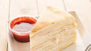 Szybki i tani kokosowy torcik naleśnikowy