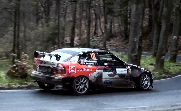 Szybkie BMW na trasie Rajdu Świdnickiego [FILM]
