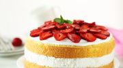 Szybkie słodkości z truskawkami