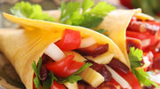 Szybkie tortille z warzywami