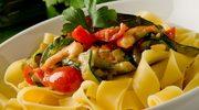Szybko i zdrowo - makaron  z warzywami