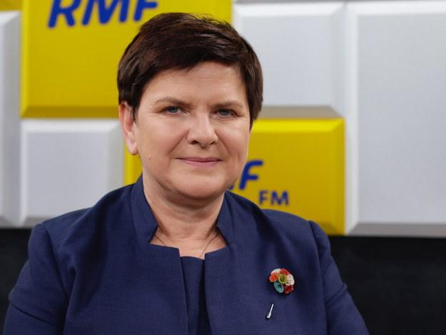 Szydło o proteście policjantów: Minister Brudziński świetnie sobie radzi