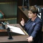 Szydło: Po wakacjach do Sejmu trafi projekt dotyczący emerytur dla matek