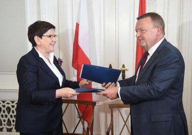 Szydło podpisała memorandum ws. gazociągu Baltic Pipe