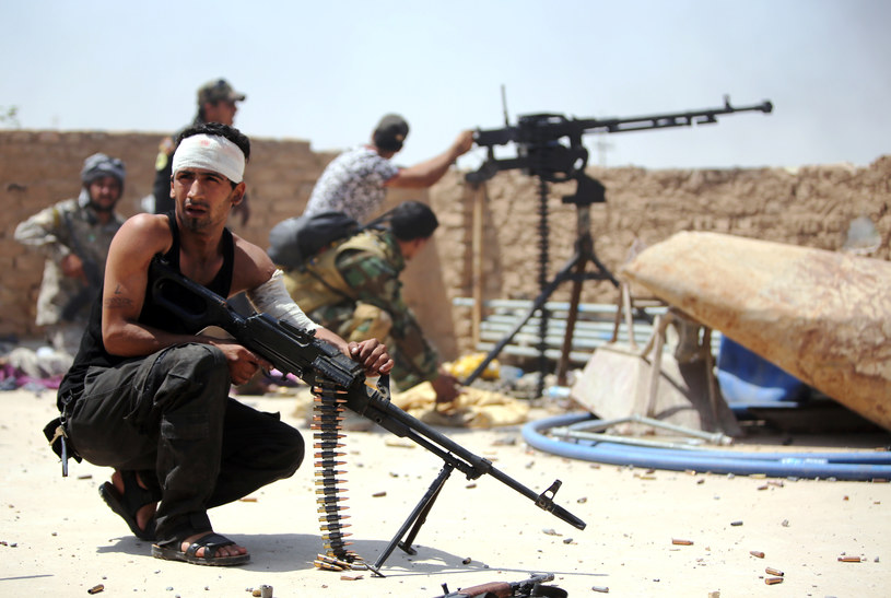 Szyiccy bojownicy w Bajdżi /AFP