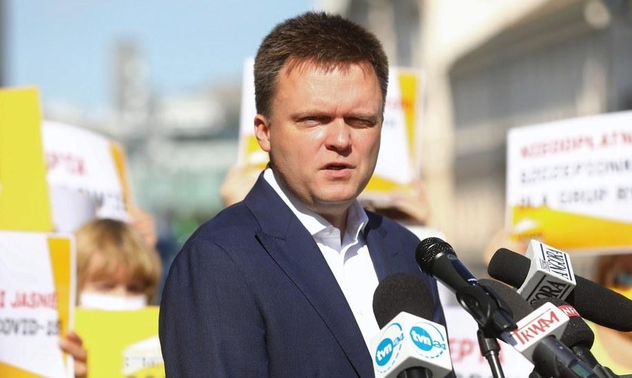 Szymon Hołowni /Rafał Guz /PAP